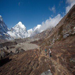 trekking to Makalu Base Camp