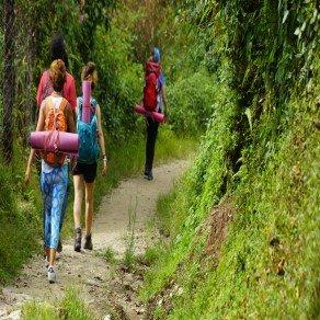 Yoga trek to Chisapani