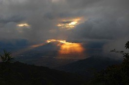 Nagarkot sunset view