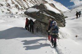 trekking to dhaulagiri circuit