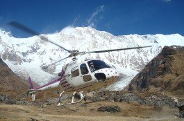Heli tour to Annapurna Base Camp