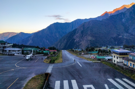 Gate way to Everest, Lukla Airport