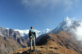 Enjoy the view from high camp